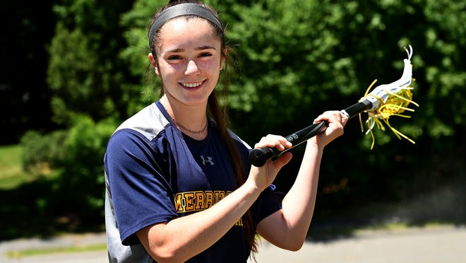 Sophie Scearbo was a T&G Hometeam All-Star in both lacrosse and field hockey at Algonquin, and she now plays Division 1 women's lacrosse at Merrimack College.