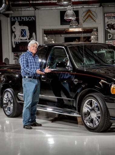 """Former """"Tonight Show"""" host Jay Leno is auctioning his"""