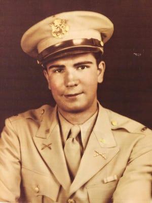 Bill Tonkovich in his Army uniform during World War II.