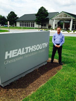 Greg Hartman, marketing director for HealthSouth Chesapeake Rehabilitation Hospital in Salisbury, said the facility is expanding because of growing demand.