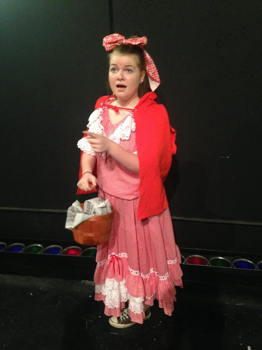 Kid Stage Red Riding Hood