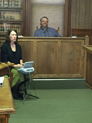 Larry Hagenbuch, the man the defense would have the jury believe shot and killed Rein, took the stand Monday.