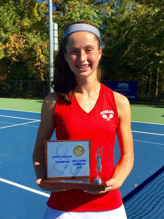 Vineland's Fisher takes second in the state