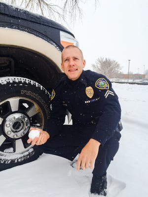 Senior Great Falls Police Officer Clint Houston