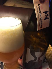 Hill Farmstead's Double Galaxy, a single hop imperial pale ale, is a juicy and bright beer.