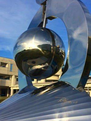 Ralfonso Gschwend, a kinetic artist, is one of the featured sculptors and speakers at the Art of Sustainability in Palm Bay.