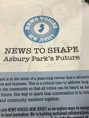 Free Press hosted a forum in Asbury Park Wednesday to bring the media and community together.