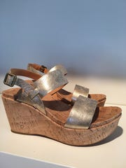 Navigate the infield like a pro in Kork-Ease wedge sandals from The Perfect Pair ($145).
