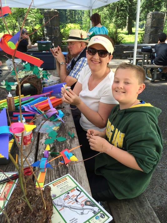 Crafting at Silver Falls