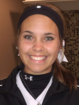Paul VI senior center fielder Abbey Lord