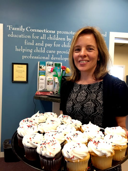 Family Connections cupcakes