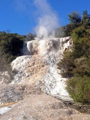 The Orakei Korako geothermal area includes two of the
