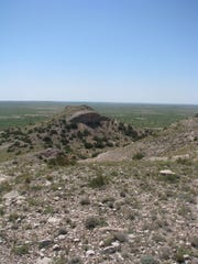 Taylor Mound, an archaeological site on the Mescalero
