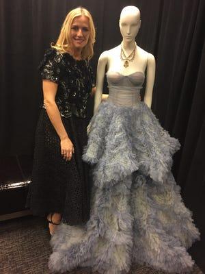 Keren Craig of Marchesa visits Nordstrom at The Mall at Green Hills.