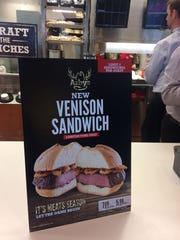 Arby's adds venison to their meat parade, but just for a short promotion.