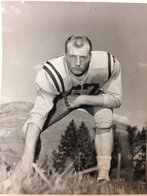 Stan Renning led Great Falls High to an unbeaten season in 1954 and went on to star for the Montana Grizzlies.