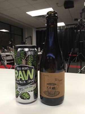 During this week's conversation, the team sipped on Casita Cerveceria's Té Amo and Samuel Adams' Rebel Raw Double IPA.
