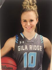 Hannah Weller, from Yuma Gila Ridge, is the azcentral.com Sports Awards Academic All-Star of the Week, for Feb. 23 - March 2.