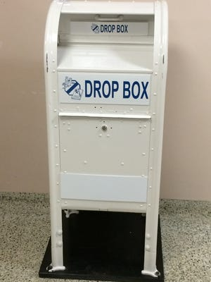 A drop box in Richmond Police Department's lobby at 50 N. Fifth St. collects unwanted prescription drugs.