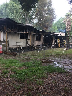 A Lafayette family lost all of their belongings after a fire broke out in their mobile home in Lafayette.