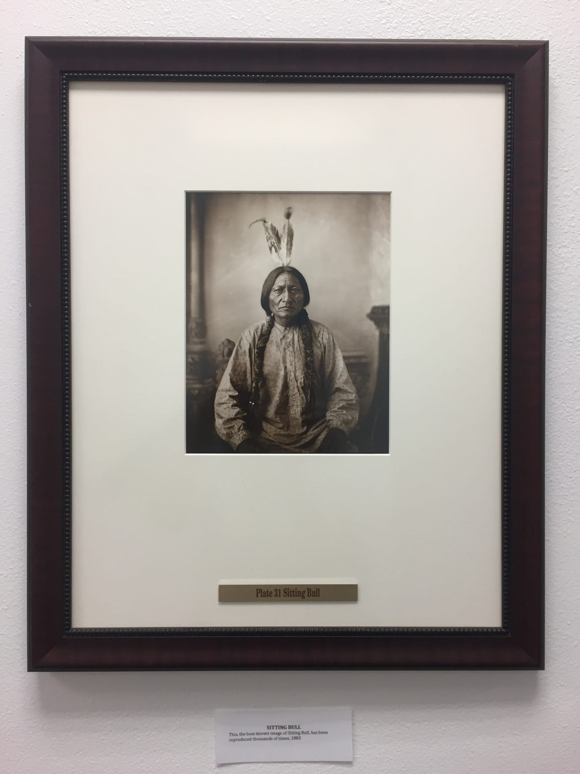 Chief Sitting Bull was a respected medicine man among his people.