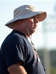 Beech coach Anthony Crabtree