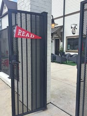 The entrance of Bound Books in Westhaven.