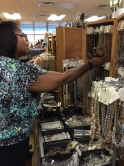 Baptist Hospital Volunteer Services is hosting a Masquerade $5 Jewelry & Accessories Sale on Thursday and Friday, Dec. 7-8, 2017.