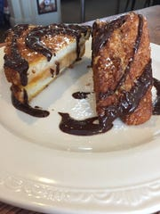 The French toast at Brown Hound Bistro.