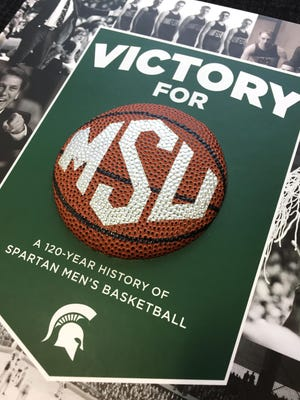 Victory for MSU, a 120-year history of Spartan Men's Basketball by Bethany Bradsher.