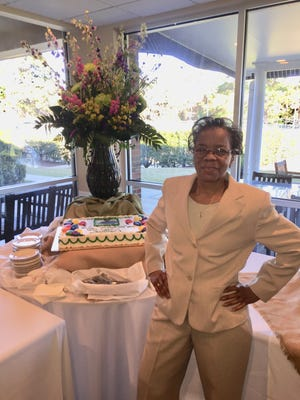 Paulette Gordon recently retired after 32 years at Capital City Country Club