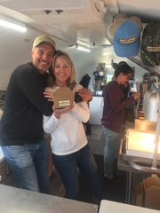 Mark and Tammy Mogul, owners of Tiny Little Donuts.