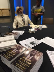 Civil rights pioneer James Meredith spoke Wednesday at the Mississippi Civil Rights Museum.