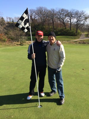 Jim Pech and John Nash each made a hole in one Nov. 2. It was a first for both men.