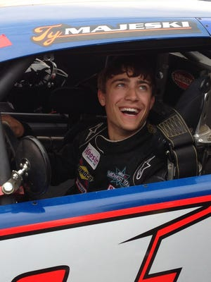 Ty Majeski of Seymour won the ARCA Midwest Tour championship in his rookie season this year.