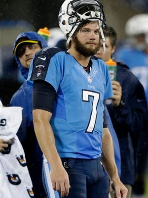 Tennessee Titans quarterback Zach Mettenberger is making his fourth career start.
