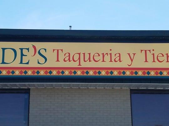 Fide's Taquiera and Tienda is located in the former