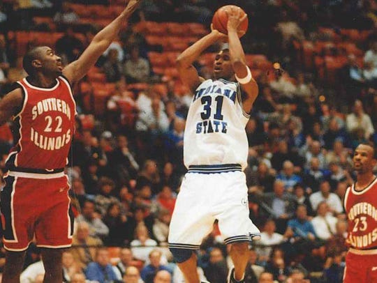 Indiana State's Jayson Wells (31)