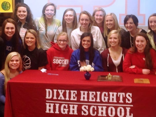 Dixie Heights senior Lauren Nemeroff signed to play