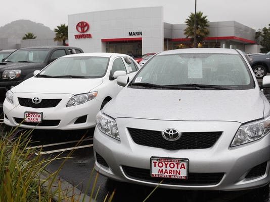 GTY TOYOTA RECALLS 2.3 MILLION VEHICLES DUE TO ACCELERATOR PEDAL PROBLEMS A TRN USA CA