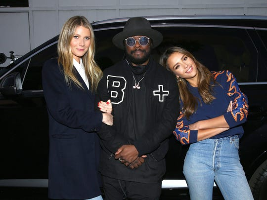 Gwyneth Paltrow, Will.i.am and Jessica Alba are featured