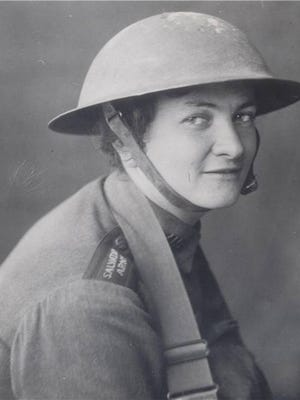 Helen Purviance's decision to fry doughnuts for World War I troops started America's love affair with doughnuts. Working close to battlefields, The Salvation Army volunteer donned a helmet and carried a gun.