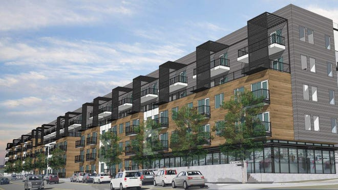 The new Aspen Heights Partners apartment project will bring more than 320 units to the rapidly redeveloping East Riverside Drive corridor in Austin.