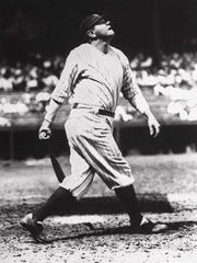 Babe Ruth in 1927.