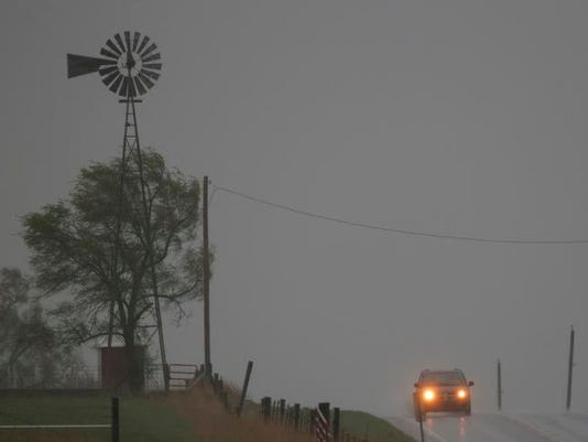 APTOPIX Severe Weather Kansas