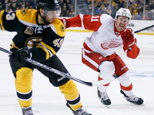 Red Wings Bruins Hockey
