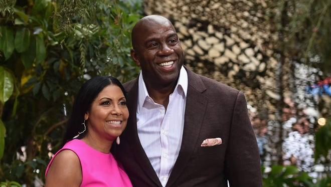"NBA legend Magic Johnson and his wife, Cookie, are scheduled to appear on ABC's ""Good Morning America"" Tuesday morning."