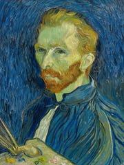 Vincent Van Gogh painted this self-portrait in 1889,