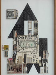 "Ray Johnson (American, 1927-1995) ""House,"" undated,"