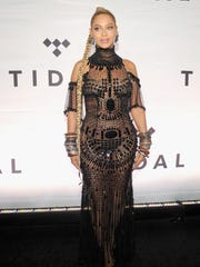 Beyonce attends TIDAL X: 1015 on October 15, 2016 in